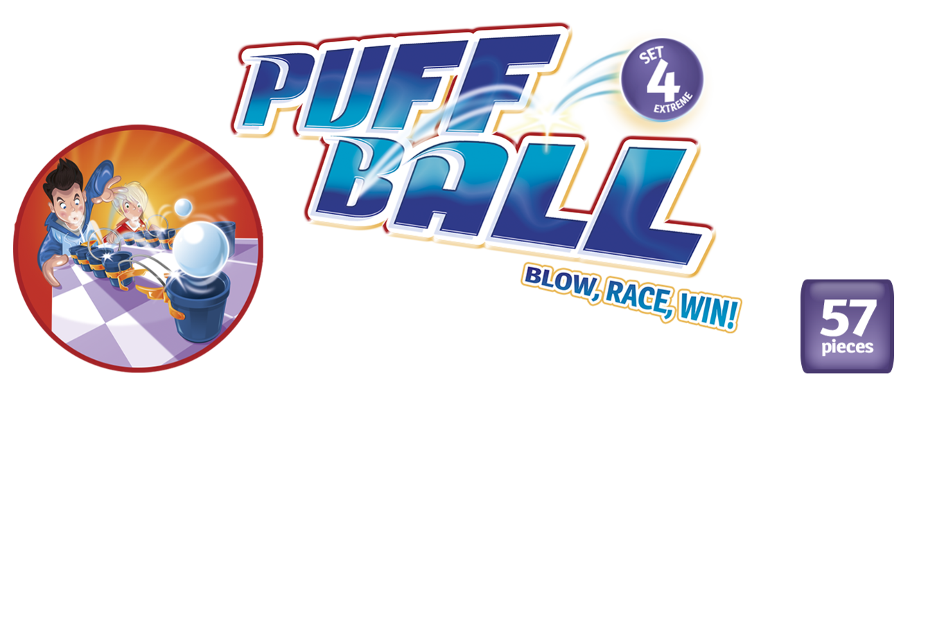Puff Ball Set 4 Extreme